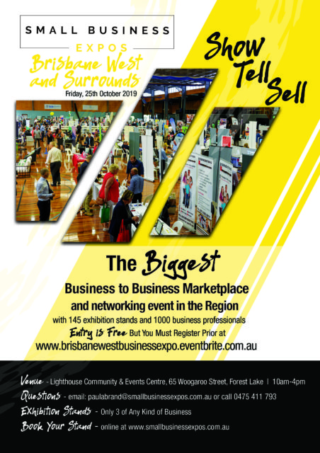 Bris West small business expo